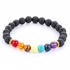New Arrival Multicolor Nature Stone Bracelet Strand Bracelets Daily / Casual 1pc Jewelry