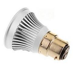 3W E14 GU5.3(MR16) B22 E26/E27 LED-spotlys MR16 1 COB 270-300 lm Varm hvid Kold hvid Jævnstrøm 12 V