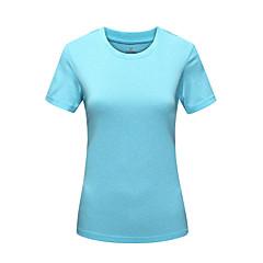 Kadın's T-shirt turystyczny Hızlı Kuruma Ultravioleye Karşı Dayanıklı Nem Geçirgenliği Toz Geçirmez Yüksek Hava Alımı (>15,001g) Nefes