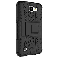 For LG Case LG K4 TPU PC Heavy Duty Armor Case with Stand 4.5 Inch Protective Skin Double Color Shock Proof