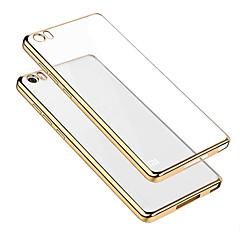Mert Mi tok Galvanizálás / Átlátszó Case Hátlap Case Egyszínű Puha TPU Xiaomi