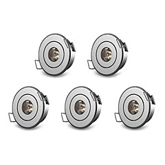 5PCS 3 W 200-250 LM Warm White/Cool White Recessed Retrofit Dimmable Recessed Lights AC 220V