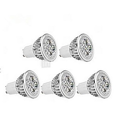 5W GU10 LED Spotlight MR16 1 350-400 lm Cool White AC 85-265 V 5 pcs