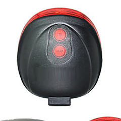 Rear Bike Light,FJQXZ  Round and Red Laser Tail Warning Safety Lights