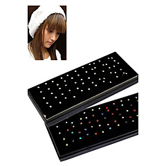 60pcs 1.8mm Stainless Steel Nose Rings & Studs Nose Piercing Ring Body Jewelry (1 Box)