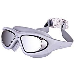 YS Gafas de natación Unisex Anti vaho / Impermeable / A prueba de dispersión Resina de ingeniería PC Gris / Negro / Azul N/A