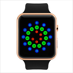 Both Men And Women And Colorful Clectronic Smart Watches