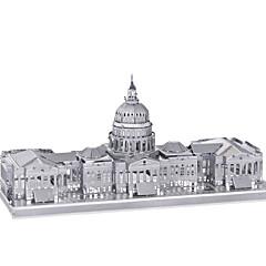 puzzle-uri Puzzle 3D / Puzzle Metal Blocuri de pereti DIY Jucarii Metal Pink Jucărie de Construit & Model