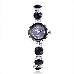 Mujer Reloj de Moda Cuarzo Aleación Banda Negro Marca-