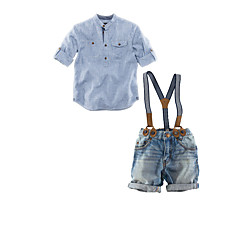 Christmas / Children's Day Kid N/A Costumes Shirt / Strap / Shorts Suit-2 Pieces