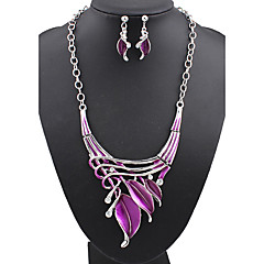 Hualuo® Fashion  Acrylic Jewelry Set Necklace/Earrings Daily / Casual 1set for Women