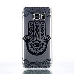 갤럭시 S4 / s4mini / S6 / S6 가장자리 / S6 에지 플러스 / S7 / S7 가장자리 제스처 패턴 TPU 소재 휴대 전화 케이스