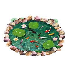 Állatok / Botanikus / Csendélet / Divat / Virágok / Szabadidő / 3D Falimatrica 3D-s falmatricák,PVC 90*60*0.1