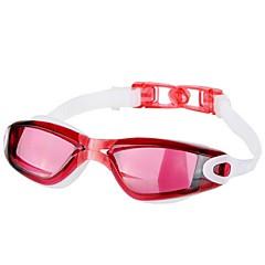 YS Okulary do pływania Dla obu płci Anti-Fog / Wodoodporny / Szyba antywłamaniowa Żywica konstrukcyjna PCCzerwony / Czarny / Niebieski /
