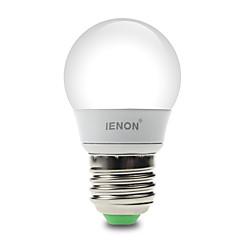 IENON®  1 pcs  3W  E27 LED Globe Bulbs G60 6 SMD 210-240 lm Warm White / Cool White Decorative AC 100-240 V