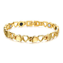 Women's Jewelry Health Care Stainless Steel Magnetic Bracelet