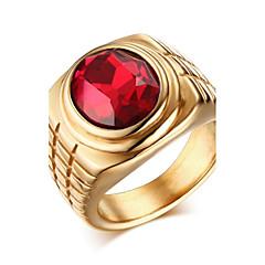 Ringar Bröllop Party Dagligen Casual Smycken Herr Ring Statementringar 1st,8 9 10 11 12 Silver