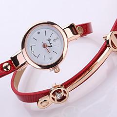 Women's Fashion Watch Bracelet Watch Mechanical manual-winding PU Band Sparkle Charm Elegant Black White Blue Red Brown Green Beige Brand