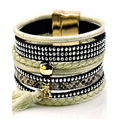 Dame Charm-armbånd Wrap Armbånd Venskab Frynsetip(s) Mode Boheme Stil Stof Legering Smykker Smykker Til Daglig Afslappet