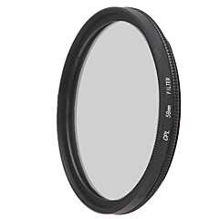 emoblitz 58mm cpl polarizatorul Filtru circular lentile