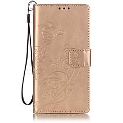 Teljes test pénztárca / Tárcatok / megfricskáz Tömör szín Műbőr Mekano Embossed Leather Tok HuaweiHuawei P9 / Huawei P9 Lite / Huawei P9