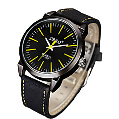 Men's Fashion Quartz Casual Watches Big Round Dial Ancients Watches Cool Watches Unique Watches