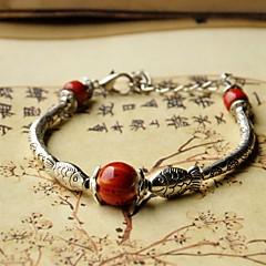 Fashionable Ceramic 20.5cm Round Loom Bracelet