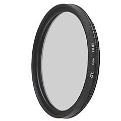 emoblitz 62 milímetros CPL lente filtro polarizador circular