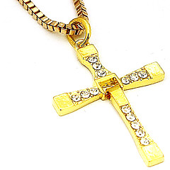 Auger Sweater Chain - Gold
