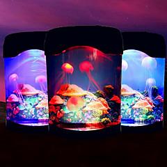 электронный медузы аквариум огни Творческий USB настольного аквариума водить ночник