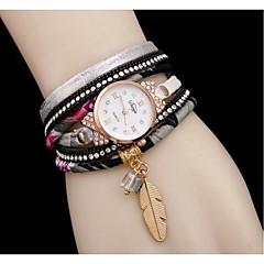 Women's Fashion Watch Bracelet Watch Simulated Diamond Watch / Imitation Diamond Quartz Alloy Band Cool Black White Red Grey Navy Rose