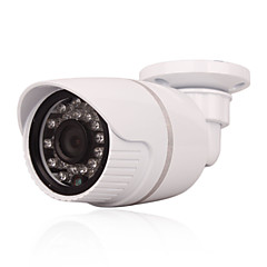 cctv 24db LED-ek IR-cut beltéri kültéri PoE 1.0mp 720p p2p hálózat biztonsági IP kamera