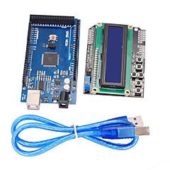 migliorata bordo versione di sviluppo Mega2560 + 1.602 scudo tastiera LCD per arduino