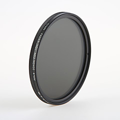 orsda® nd2-400 67mm justerbar røket (16 lag) fmc filter