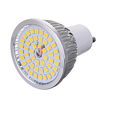 5W GU10 Focos LED T 48 SMD 2835 300-400 lm Blanco Cálido / Blanco Fresco Decorativa AC 85-265 V 1 pieza