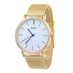 New Silver Casual Geneva Quartz Fashion Watch Women Metal Mesh Stainless Steel Strap Watch Dress Watches Relogio Feminino Clock Unique Watches