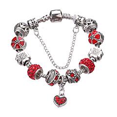 Damskie Dla dziewczynek Bransoletki z breloczkami Bransoletki Strand Trwały Modny Godny podziwu Paciorki luksusowa biżuteria Europejski