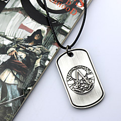 Jewelry Inspired by Assassin's Creed Cosplay Anime/ Video Games Cosplay Accessories Necklace Silver Alloy Male / Female