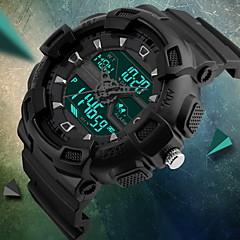 SKMEI Męskie Sportowy Zegarek cyfrowy Kwarcowy Cyfrowe Kwarc japońskiLCD Kalendarz Wodoszczelny Dwie strefy czasowe Trzy strefy czasowe