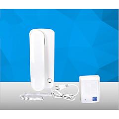 Ev telefon kablosu talkback görsel olmayan interkom kapı zili ac-dc elektrik kontrol kilidi