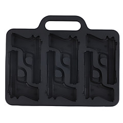 1Pc Party Drink Ice Tray Cool Pistol Ice Cube Style Ice Mold Ice Maker Mould