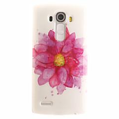 For LG etui Mønster Etui Bagcover Etui Blomst Blødt TPU for LG LG G4 LG G3 Beat / G3 Mini Andet