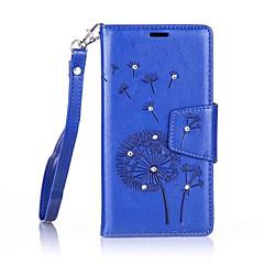 Mert Nokia tok Pénztárca Case Teljes védelem Case Pitypang Kemény Műbőr Nokia