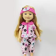 sharon fixe de 16 pouces robe vêtements de poupée princesse mode chapeau accessoires de vêtements pour bébés de trois couleurs sans