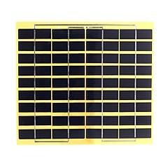 5W 18V PET Laminated Polycrystalline Silicon Solar Panel Solar Cell for DIY (SWB5018)