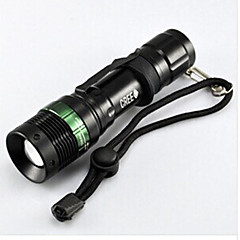 LED Flashlights/Torch - / Cree Q5 Cycling Adjustable Focus / Easy Carrying Other 50 Lumens Battery Cycling/Bike-Lights