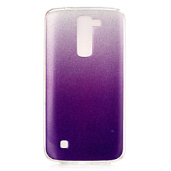 For LG etui IMD Etui Bagcover Etui Farvegradient Blødt TPU for LG LG K7