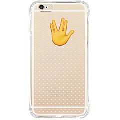 Mert iPhone 6 tok / iPhone 6 Plus tok Vízálló / Ütésálló / Porálló Case Hátlap Case Rajzfilmfigura Puha TPU AppleiPhone 6s Plus/6 Plus /