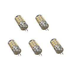 2.5 G4 Luci LED Bi-pin T 24LED SMD 2835 200 lm Bianco caldo / Luce fredda Decorativo AC 220-240 V 5 pezzi