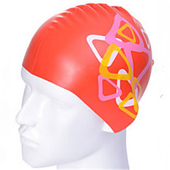 Swim Caps Unisex Red / Blue / Black / White 15cm